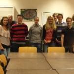 Teilnehmer des Geoinformatikworkshops
