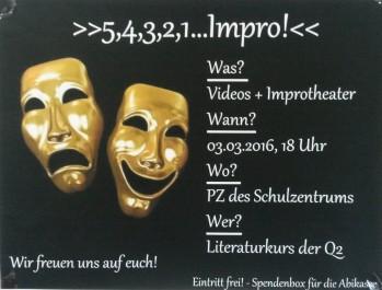 Plakat Improshow
